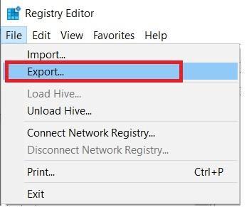 Export-Registry-Editor