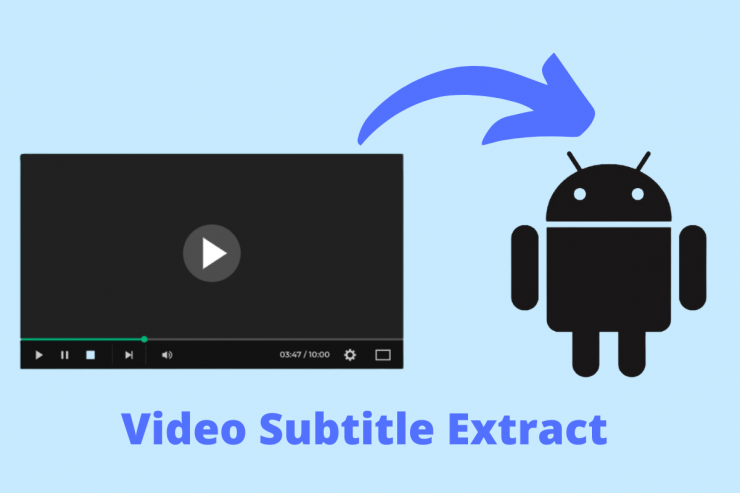 Extract Video Subtitle Android