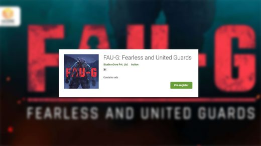 FAU-G Registration