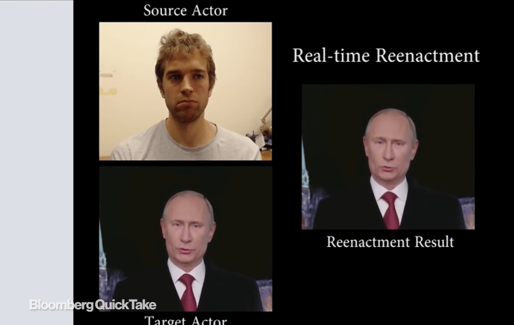 Fake video generators haven't yet mastered the art of moving the face muscles naturally