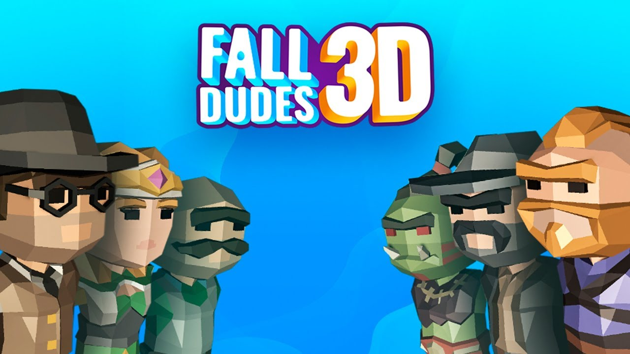 Fall Dudes 3D