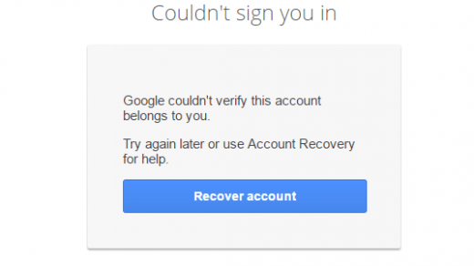 Fix Couldn't Sign you in - Google Account Login Issue