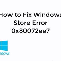 Fix Windows Store Error 0x80072ee7