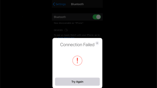 Fix AirPods 'Connection Failed' Error on iPhone