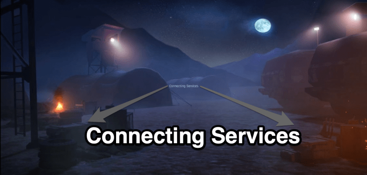 Fix Connecting Services Error on FAU-G