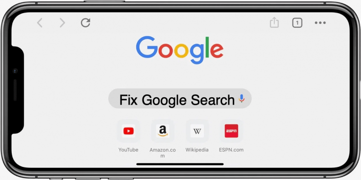 Fix Google Search Not Working Chrome iPhone