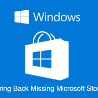 Fix Microsoft Windows Store Missing in Windows 10 PC
