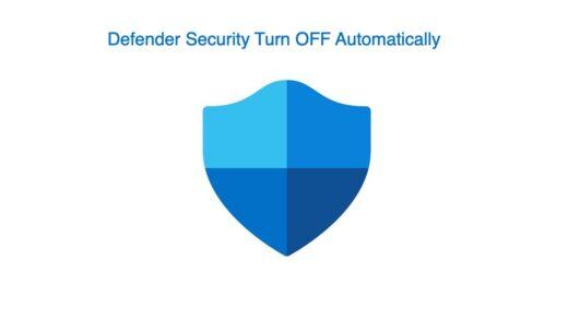 Fix Windows 11 Defender Security Keeps Turning Off