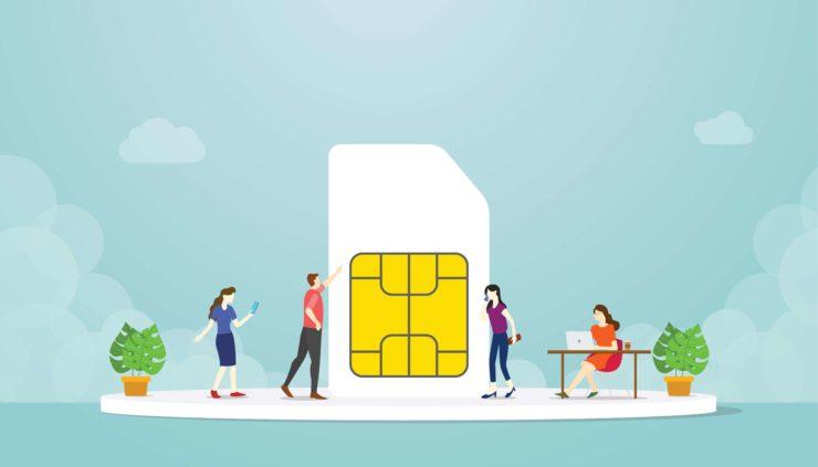 Fix iPhone SIM card no network and no service