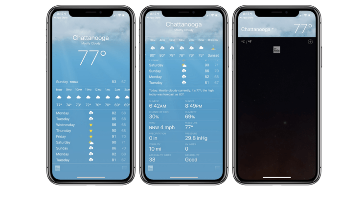 iPhone Weather App Showing Wrong Temperature