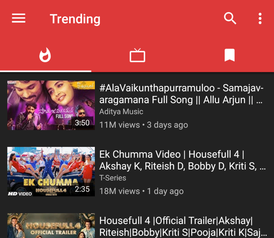GenYouTube App Android APK Trending Videos