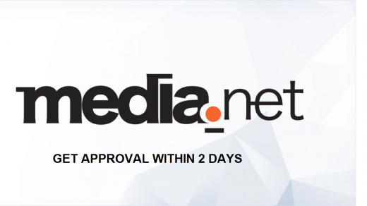 Get media net approval