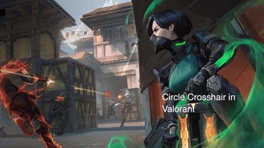 Get Circle Crosshair in Valorant