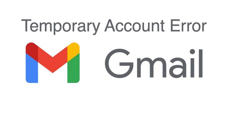 Gmail Temporary Error Fix