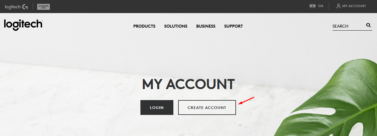 """Go to the official site and click on """"Create Account"""" to start the process"""