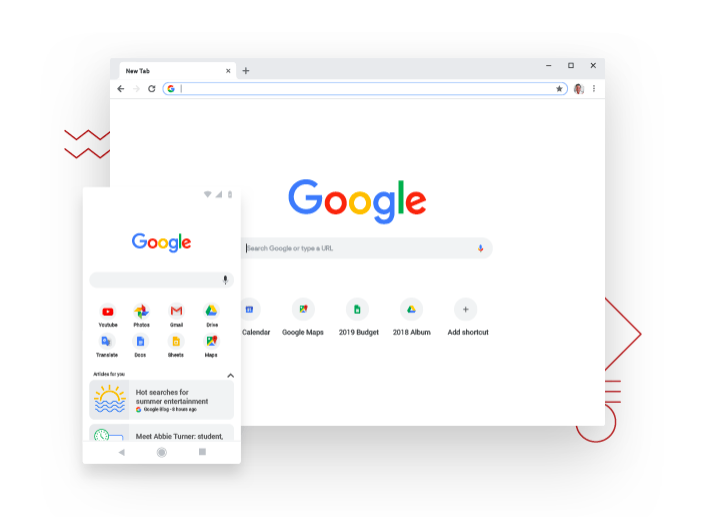 Google Chrome Browser Windows