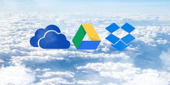 Google Drive Vs One Drive Vs Drop Box