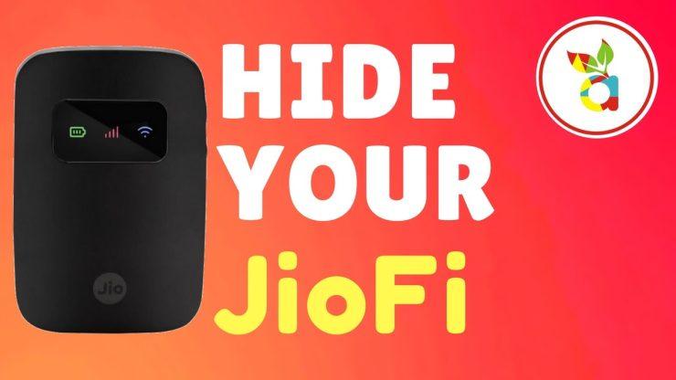 Hide and Block your JioFi