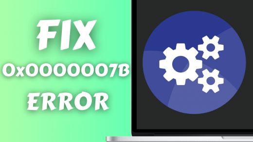 How to Fix STOP 0x0000007B Errors