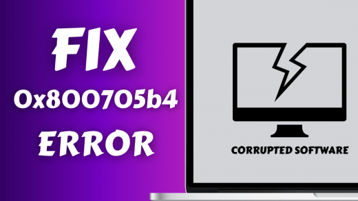 How to Fix the Windows Update Error Code 0x800705b4