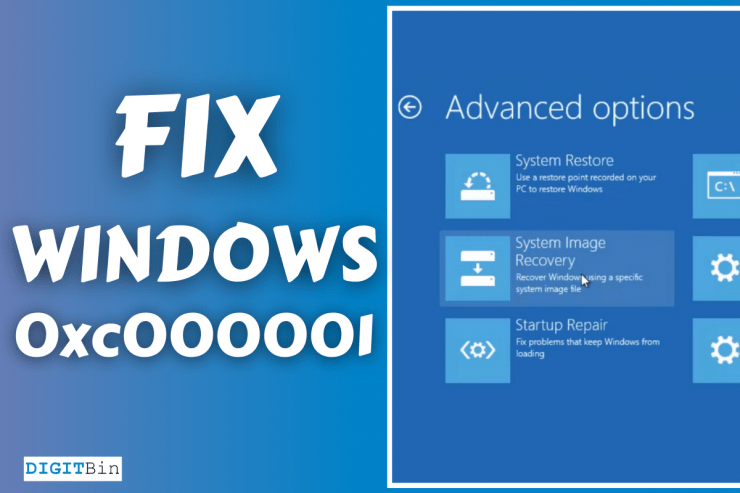 How to fix Windows Error Code 0xc000001