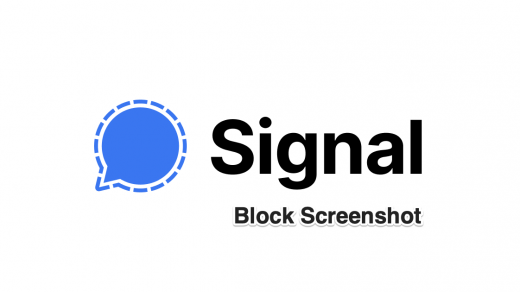 How to Block Screenshot on Signal