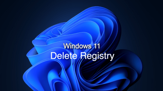 How to Delete the Registry in Windows 11