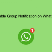 How to Hide WhatsApp Web Notification on Mobile