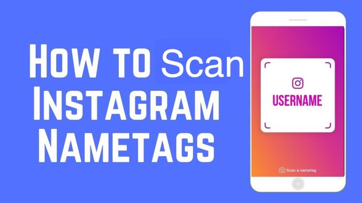 How to Scan Instagram QR Code Name Tags