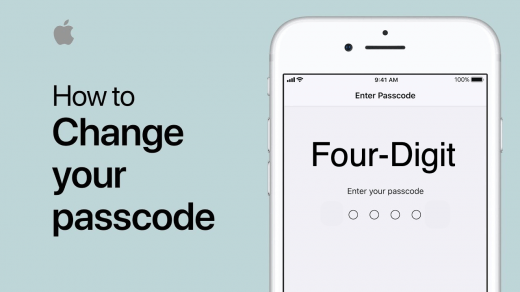 How to Switch to Four-Digit Passcode on iPhone and iPad?