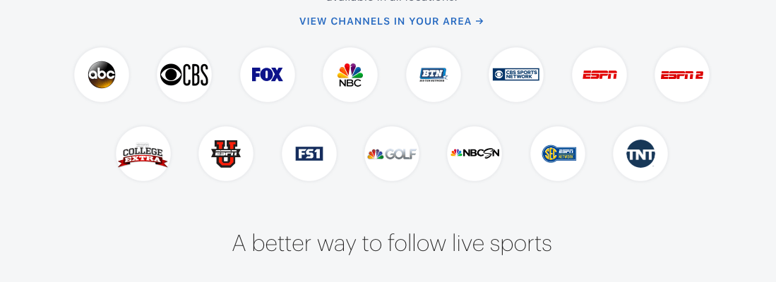 Hulu Live Sports Channels