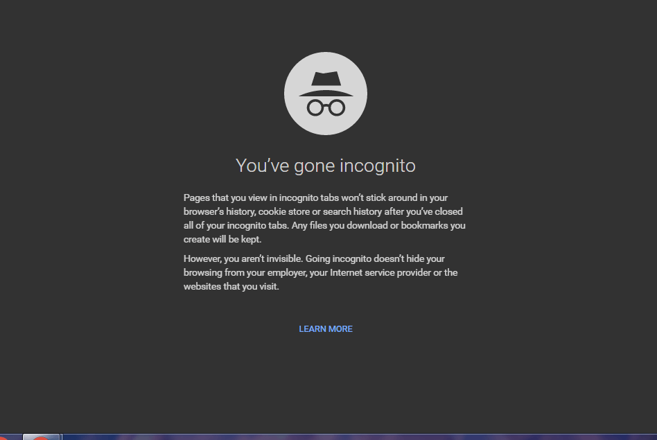 Incognito browsing doesn't help you from your ISP protection