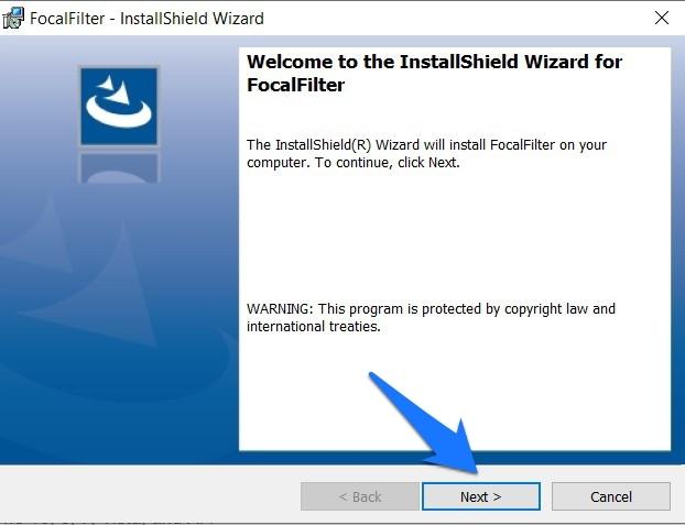 Install FocalFilter
