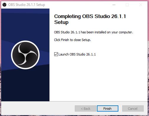 Install OBS Studio
