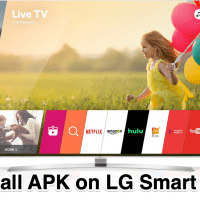 Install APK on LG Smart TV