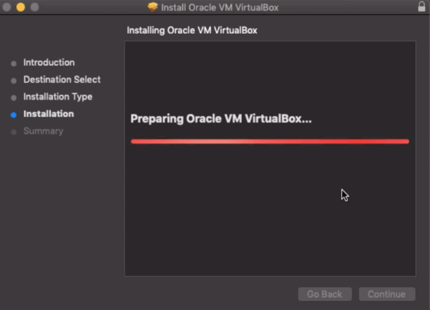 Install VirtualBox on macOS
