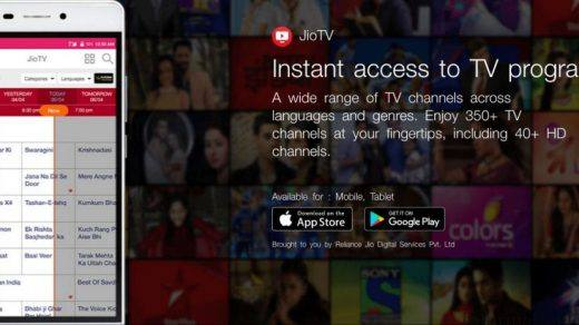 JioTV Web for PC