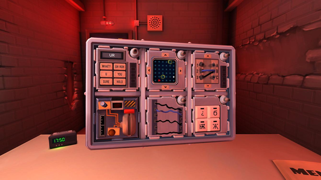 Keep Talking, and Nobody Explodes