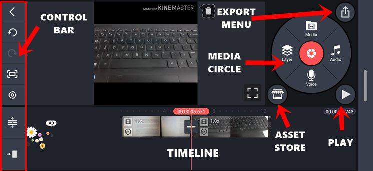 KineMaster Basic Settings