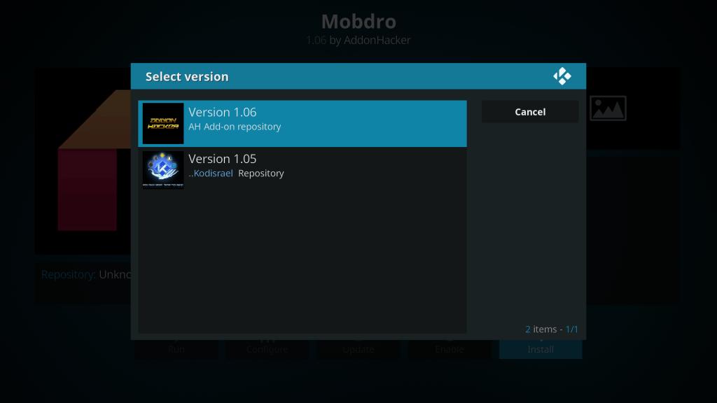 Kodi Repository for Mobdro Ah
