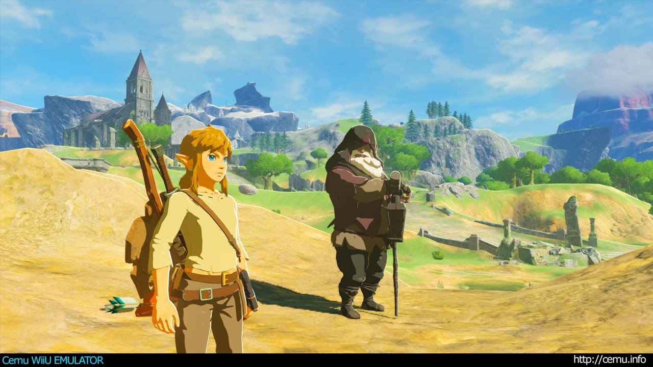 Legend og Zelda on Cemu