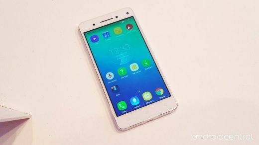 Lenovo Vibe S1 with Android Marshmallow