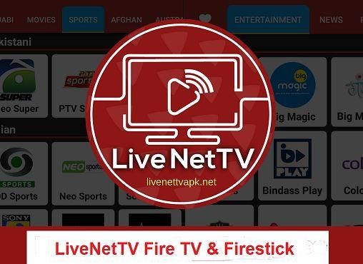 Live Net TV Fire TV & Firestick Install
