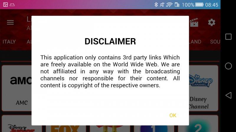 Live Net TV Legal