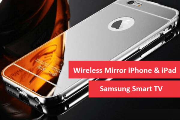 Mirror iOS with Samsung TV