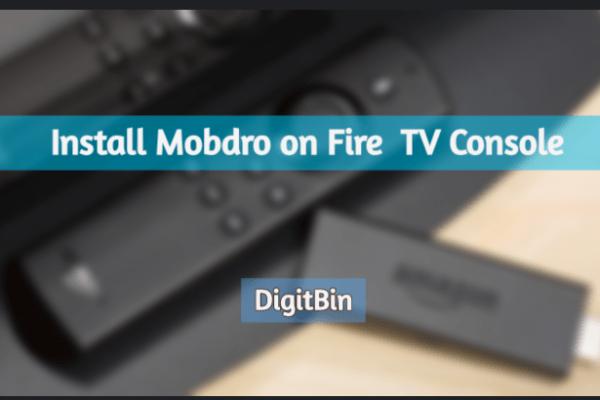 Mobdro for Firestick TV