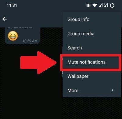 Mute Notifications