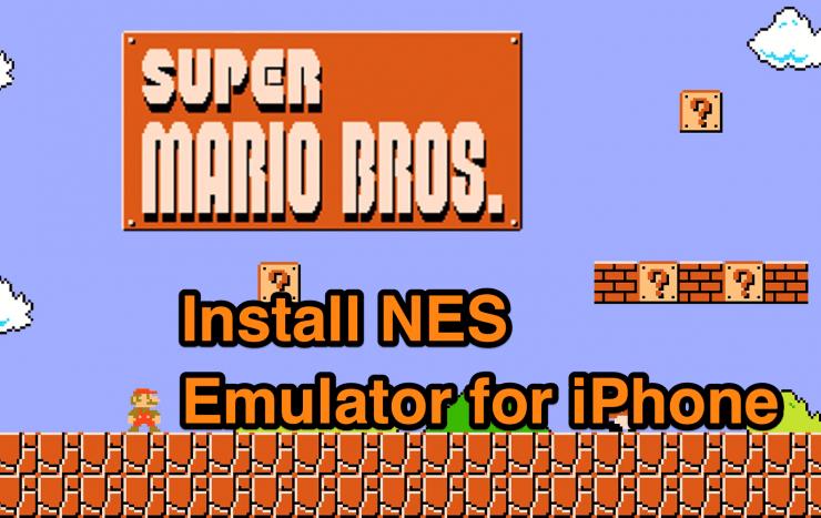 NES Emulator for iPhone