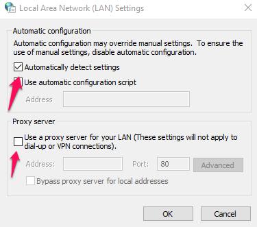 Network-Settings