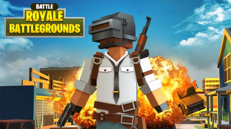 Offline Battle Royale Games Android